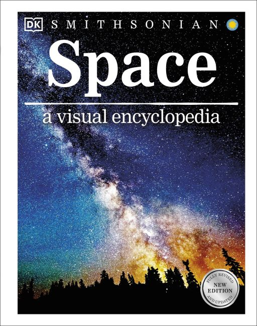 Hardback cover of Space a Visual Encyclopedia