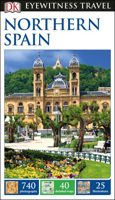 Flexibound cover of DK Eyewitness Travel Guide Northern Spain