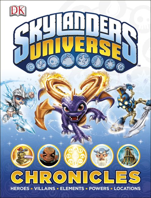 Hardback cover of Skylanders Universe Chronicles