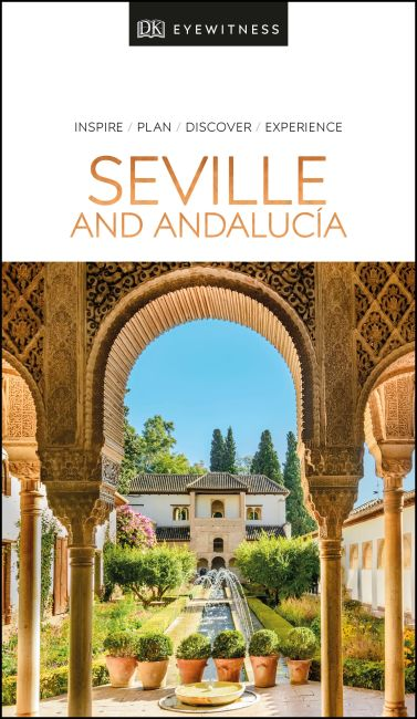 Paperback cover of DK Eyewitness Seville and Andalucia