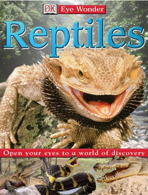 eBook cover of Eyewonder: Reptiles
