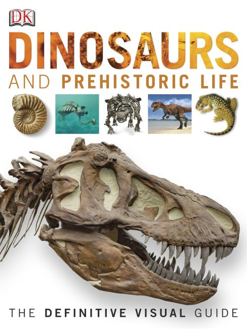 eBook cover of Dinosaurs and Prehistoric Life