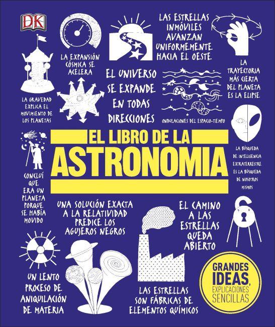 Hardback cover of El Libro de la Astronomía
