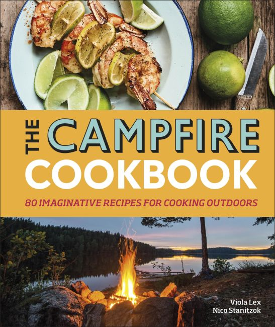Hardback cover of The Campfire Cookbook