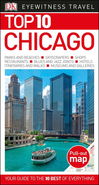 Paperback cover of Top 10 Chicago
