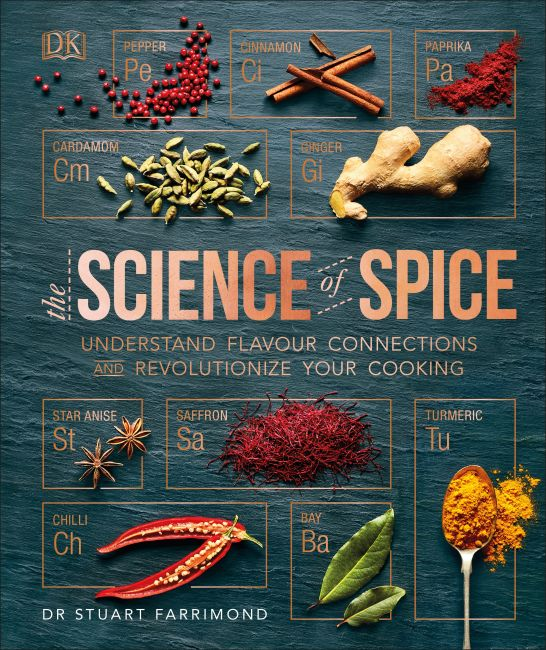 Hardback cover of The Science of Spice