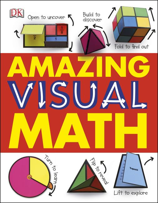 Hardback cover of Amazing Visual Math