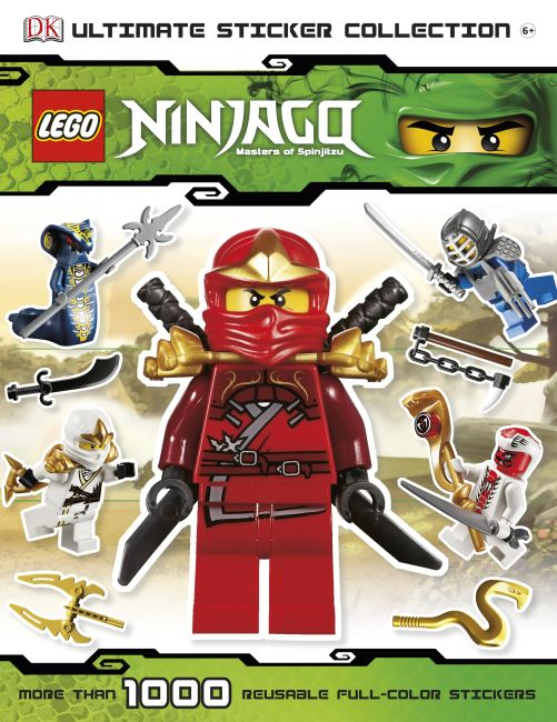 Paperback cover of Ultimate Sticker Collection: LEGO® NINJAGO