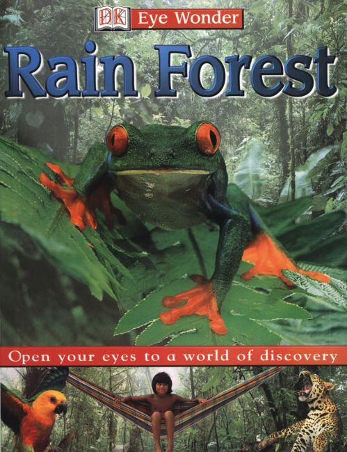 eBook cover of Eyewonder: Rain Forest