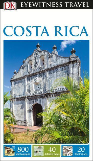 Flexibound cover of DK Eyewitness Travel Guide Costa Rica