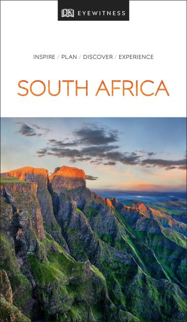 Paperback cover of DK Eyewitness Travel Guide South Africa