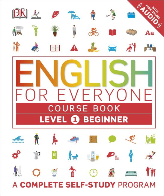 Hardback cover of English for Everyone: Level 1: Beginner, Course Book