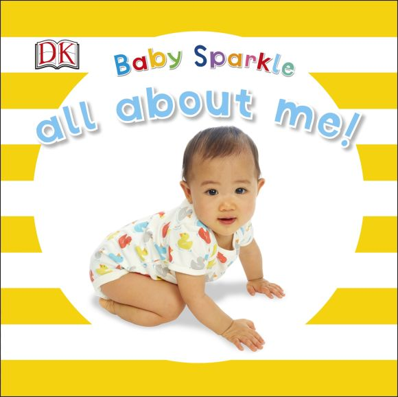 Board book cover of Baby Sparkle All About Me