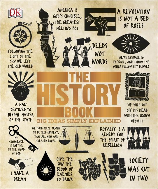 Hardback cover of The History Book