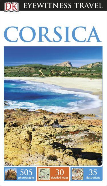 Flexibound cover of DK Eyewitness Travel Guide Corsica