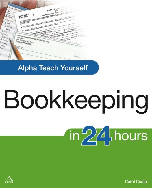 eBook cover of Alpha Teach Yourself Bookkeeping in 24 Hours