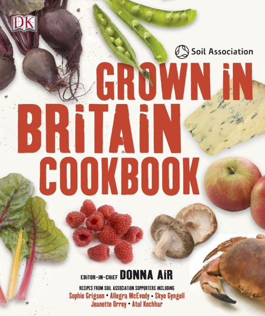 eBook cover of Grown in Britain Cookbook