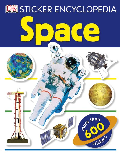 Paperback cover of Sticker Encyclopedia: Space