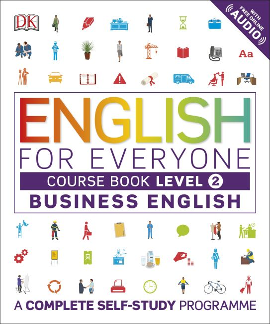 Flexibound cover of English for Everyone Business English Course Book Level 2