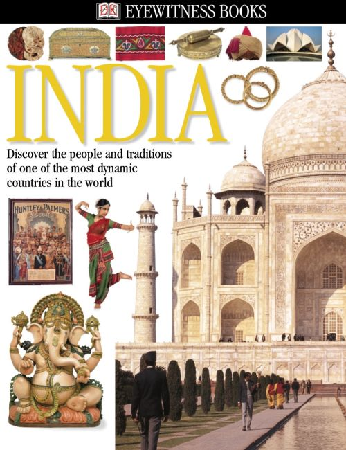 eBook cover of DK Eyewitness Books: India