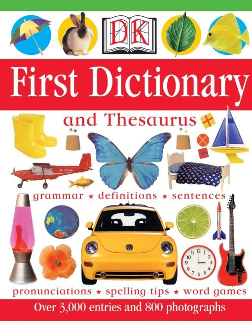 Hardback cover of DK First Dictionary