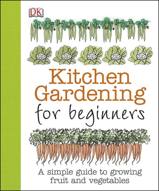 Paperback cover of Kitchen Gardening for Beginners