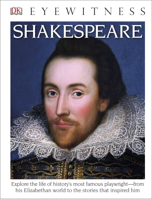 Hardback cover of DK Eyewitness Books: Shakespeare