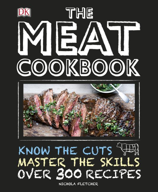 Hardback cover of The Meat Cookbook