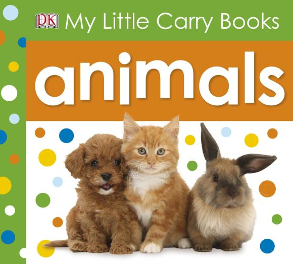 eBook cover of My Little Carry Book Animals