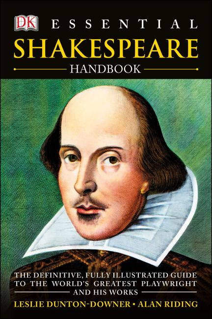 Paperback cover of Essential Shakespeare Handbook