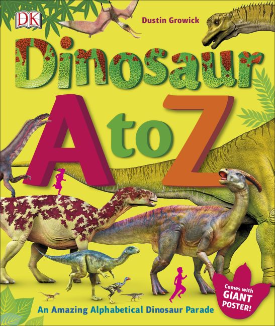 Hardback cover of Dinosaur A to Z