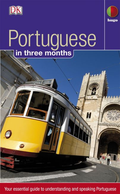 eBook cover of Portuguese in 3 months