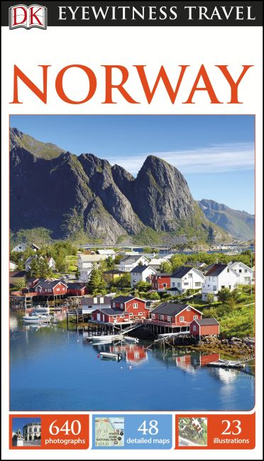 Paperback cover of DK Eyewitness Travel Guide Norway