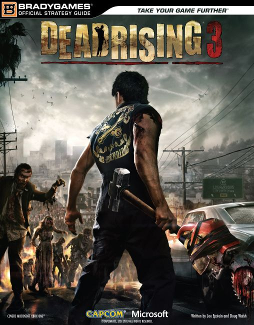 eBook cover of Dead Rising 3 Official Strategy Guide