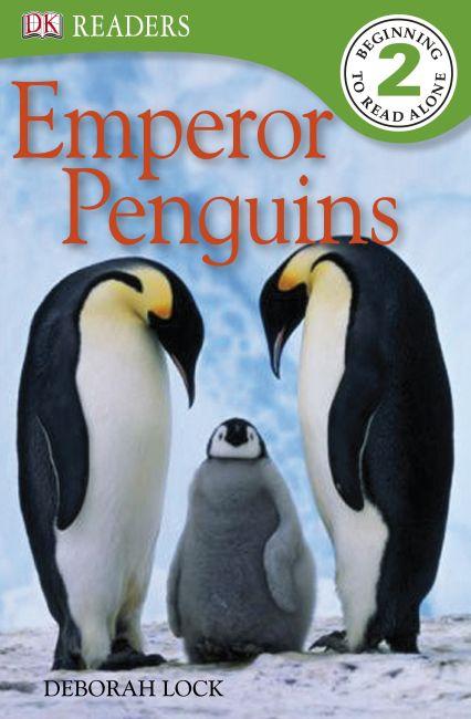 Paperback cover of DK Readers L2: Emperor Penguins