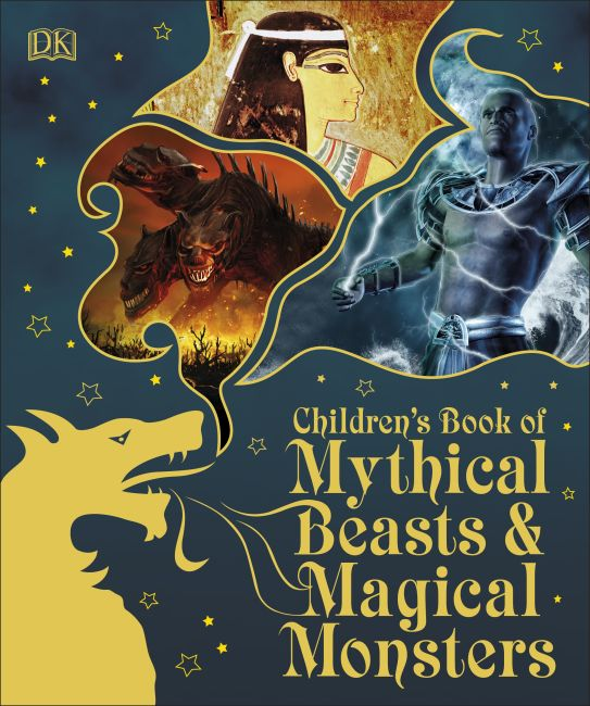 Paperback cover of Children's Book of Mythical Beasts and Magical Monsters