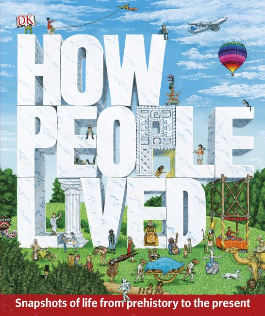 eBook cover of How People Lived