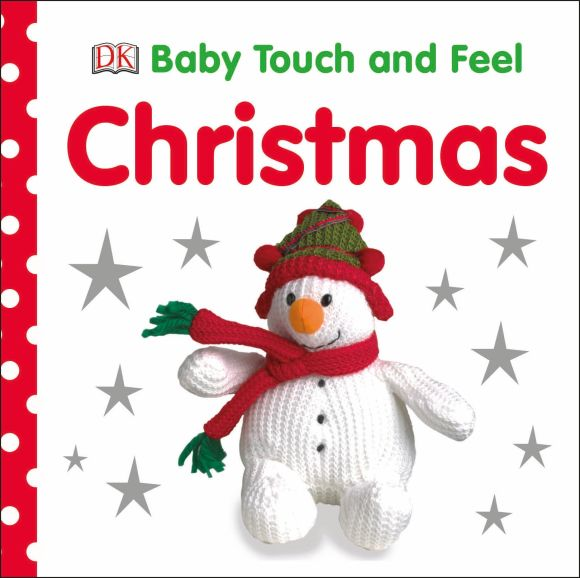 Board book cover of Baby Touch and Feel: Christmas
