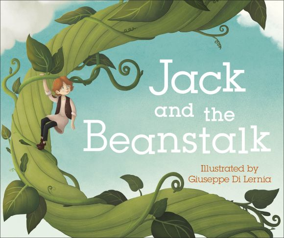 Board book cover of Jack and the Beanstalk