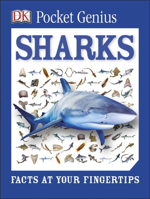 Paperback cover of Pocket Genius: Sharks