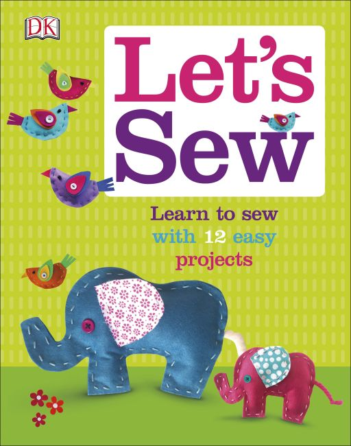 Hardback cover of Let's Sew