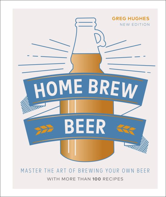 Hardback cover of Home Brew Beer