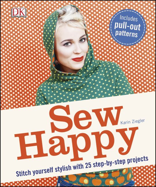Paperback cover of Sew Happy