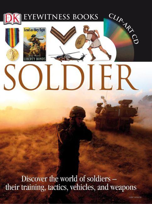 Hardback cover of DK Eyewitness Books: Soldier