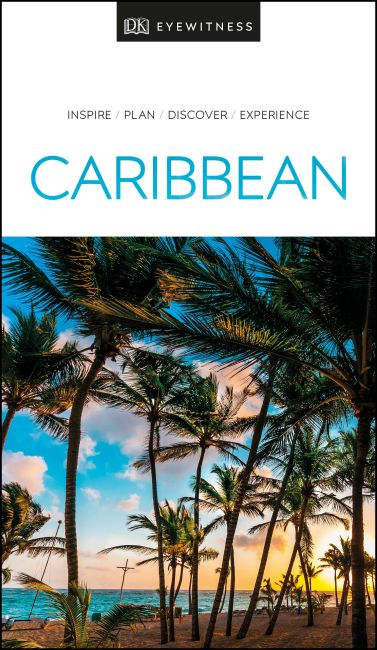 Paperback cover of DK Eyewitness Travel Guide Caribbean
