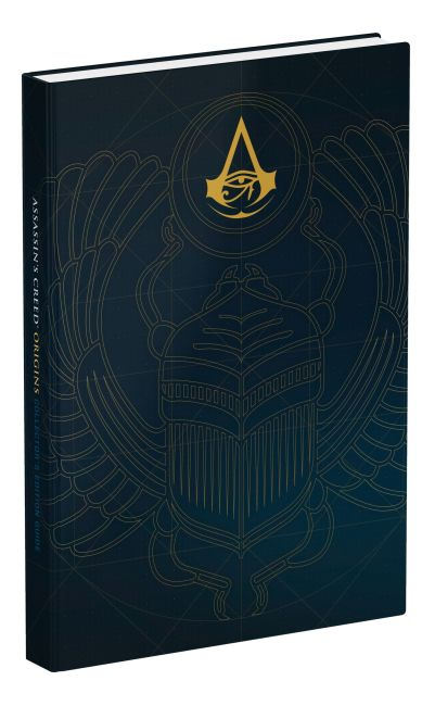 Hardback cover of Assassin's Creed Origins