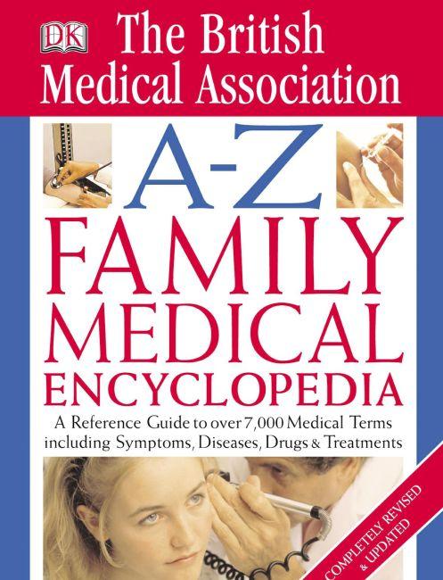 eBook cover of BMA A-Z Family Medical Encyclopedia