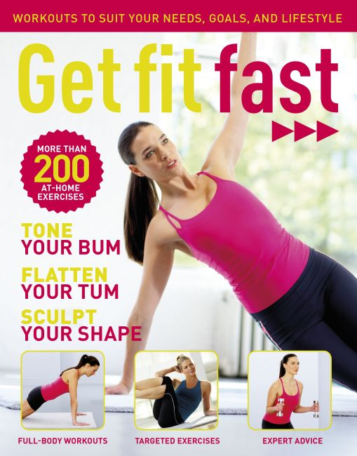 Paperback cover of Get Fit Fast Bookazine