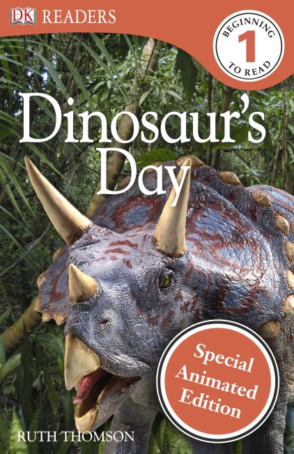 eBook cover of Dinosaur's Day Animated