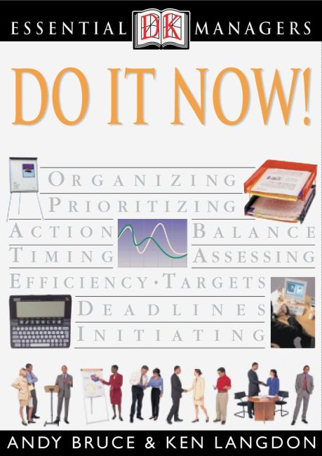 eBook cover of DK Essential Managers: Do It Now!